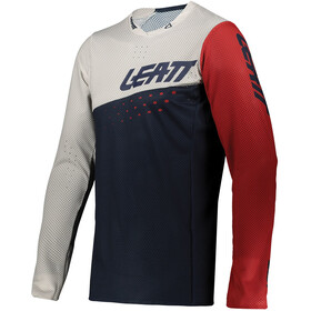 Leatt MTB Gravity 4.0 Maglietta Uomo, blu/bianco